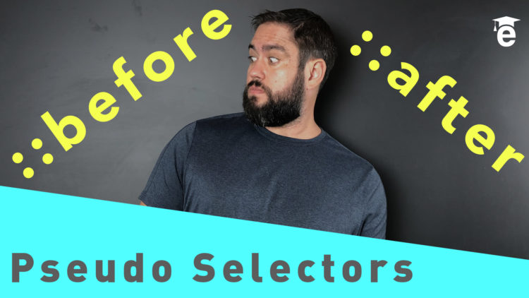 before after pseudo selectors html css