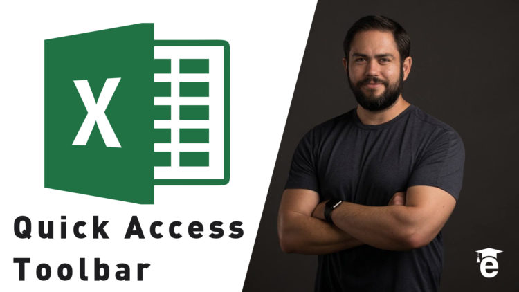 customizing excel quick access toolbar