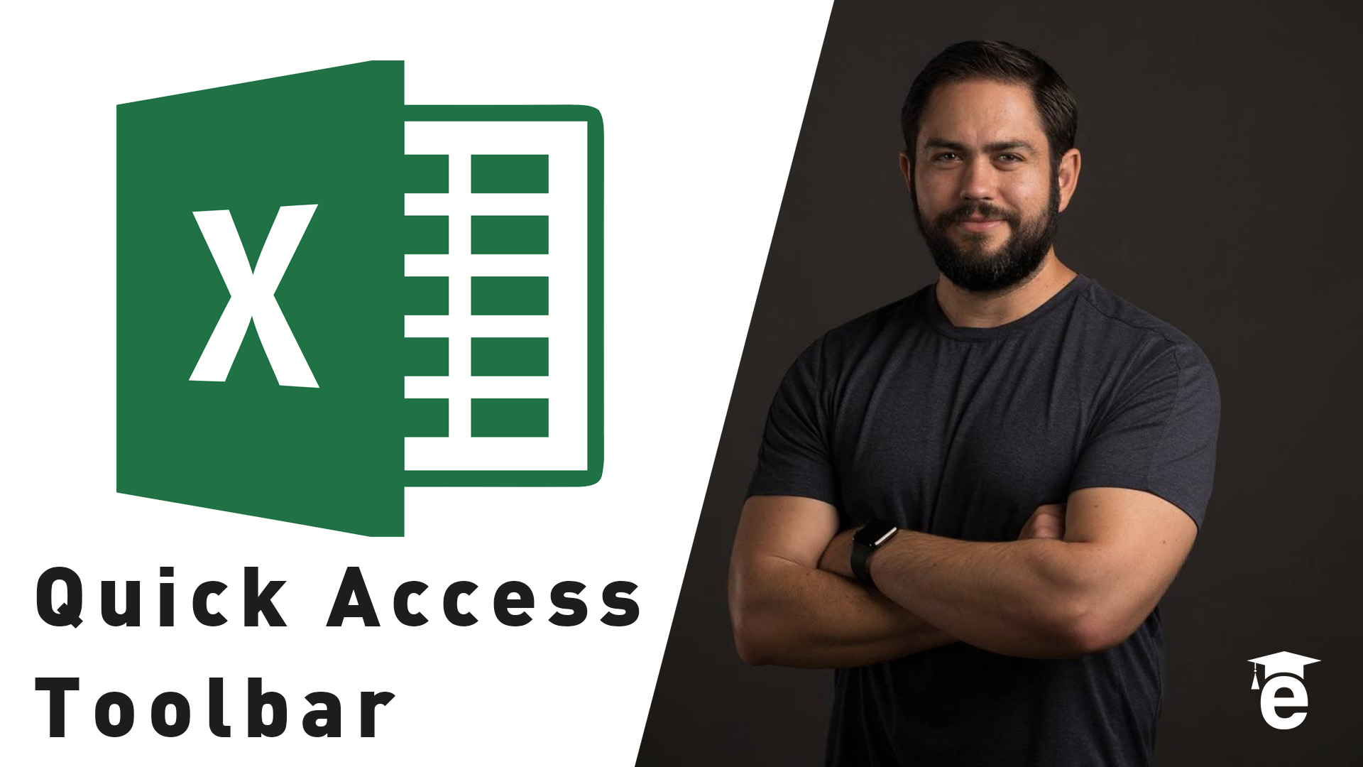 customizing excel quick access toolbar